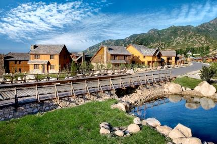 Inspired by the mountains in Hebei, Smith created Jackson Hole in China