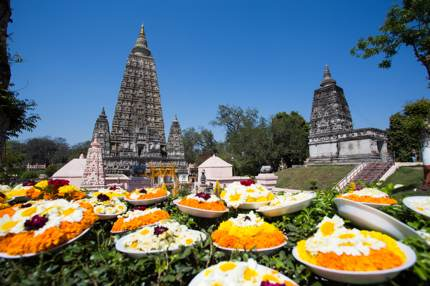 Mahahodhi Temple, the most holy site for Buddhists