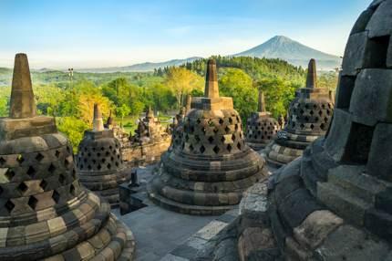 Borobudur, the world's largest Buddhist temple