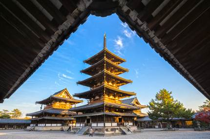 Horyu-ji, Japan's first designated UNESCO Heritage site